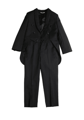 Wool Blend Tailcoat & Pants