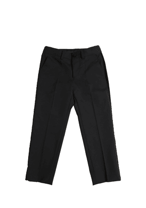 Virgin Wool Tuxedo Pants