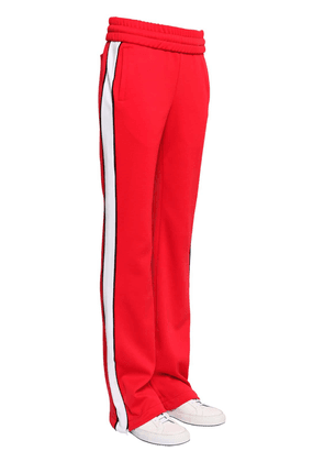 Flared Track Pants W/ Side Bands