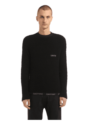 Cashmere Sweater W/ Embroidered Detail