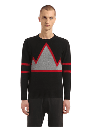 Mountain Intarsia Cashmere Sweater
