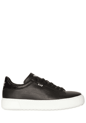 Classic Leather Platform Sneakers