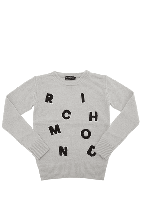 Logo Patches Knitted Sweater