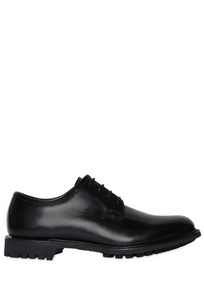Newbridge Bright Leather Derby Shoes