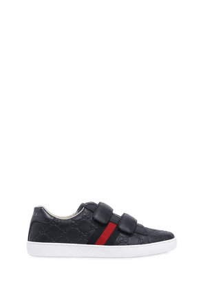 Gg Guccissima Leather Sneakers