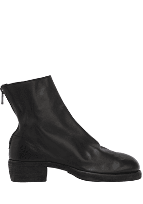 796z Zipped Leather Boots