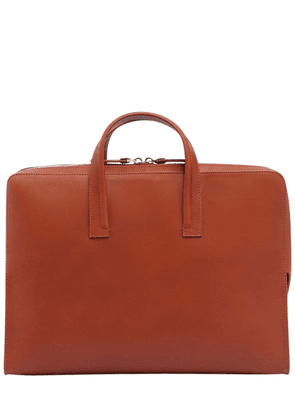 Vegetable Tanned Leather Briefcase