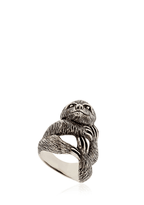 Sloth Sterling Silver Ring