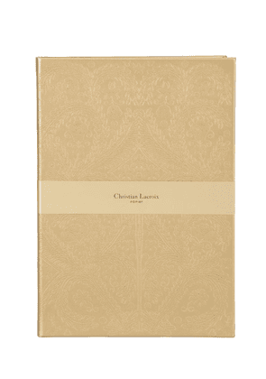 A4 Gold Embossed Paseo Notebook