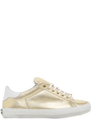 20mm Metallic Leather Sneakers