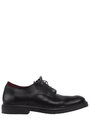Suede & Leather Lace-up Shoes
