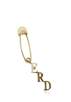 Safety Pin Single Earring