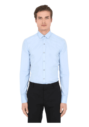 Slim Fit Cotton Poplin Shirt
