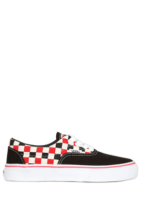 Check Canvas Low Sneakers