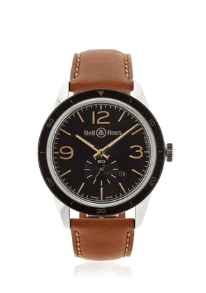 Br 123 Steel Golden Heritage Watch
