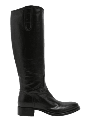 20mm Leather Rider Boots
