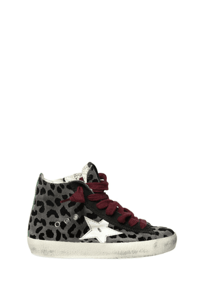 Super Star Leopard Suede Sneakers