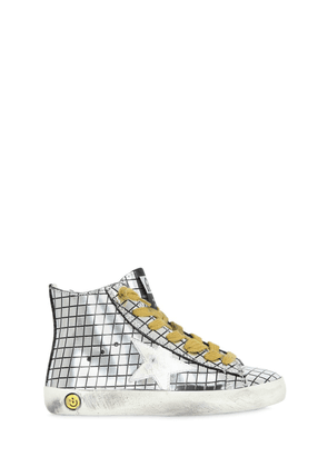 Super Star Brushed Leather Sneakers