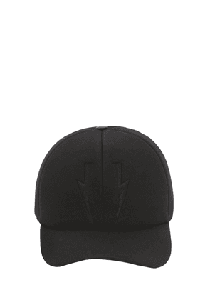 Bolts Baseball Hat W/ Leather Detail