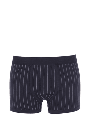 Pinstriped Stretch Jersey Boxer Briefs