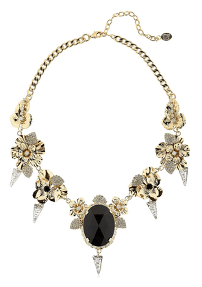 Pansy & Spikes Necklace