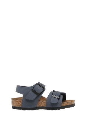 New York Faux Leather Sandals