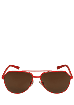 Aviator Shaped Metal Sunglasses