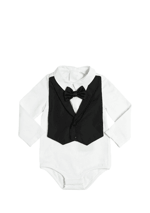Cotton Jersey Bodysuit & Bib