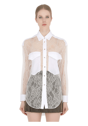 Viscose Lace Shirt