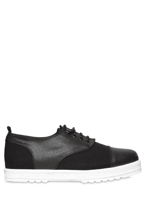 Canvas & Waxed Canvas Lace-up Shoes