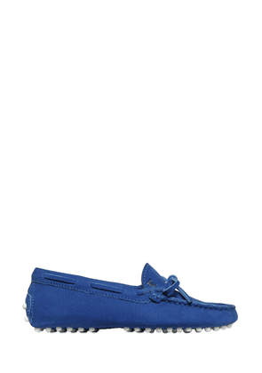 Nubuck Loafers With Lacing