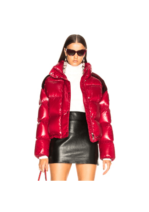 Moncler Chouette Giubotto Jacket in Red