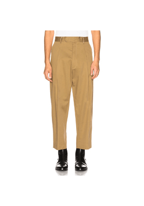 Haider Ackermann Cropped Trousers in Neutral