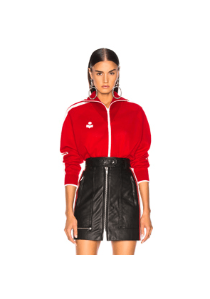 Isabel Marant Etoile Darcey Jacket in Red