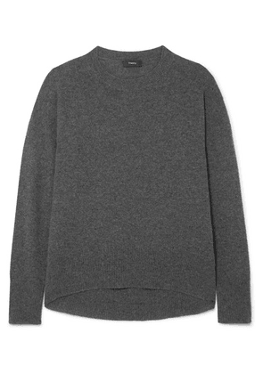 Theory - Karenia Cashmere Sweater - Charcoal