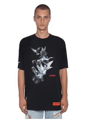 Ss Herons Doves Cotton T-shirt