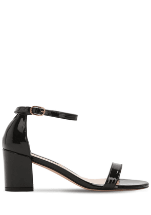 55mm Simple Patent Leather Sandals