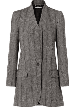 Stella McCartney - Bryce Herringbone Wool-blend Coat - Black