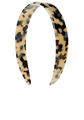 France Luxe 3/4 Headband in Ivory.