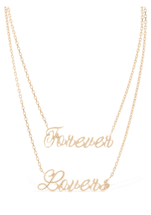 Forever Lovers Multi Chain Necklace