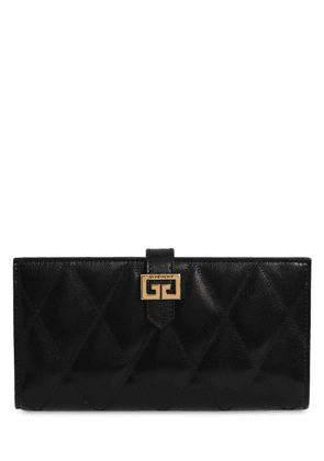 Gv3 Quilted Leather Wallet