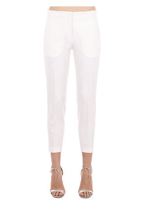 Satin Side Band Cady Pants
