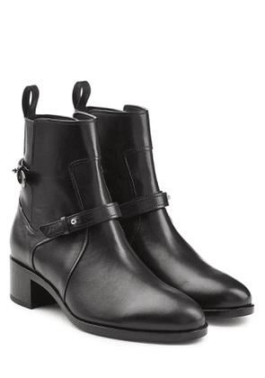 Pierre Hardy Leather Ankle Boots