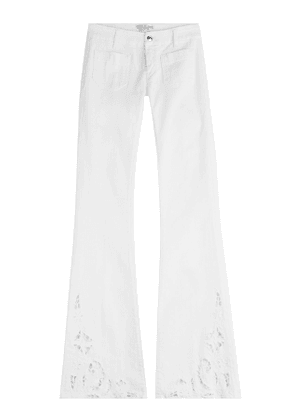 Seafarer Penelope Flared Jeans with Cut-Out Detail