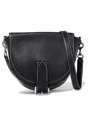 JW Anderson - Bike Small Smooth And Textured-leather Shoulder Bag - Black