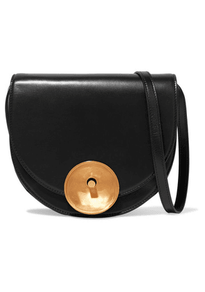Marni - Monile Large Leather Shoulder Bag - Black