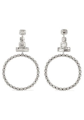 Isabel Marant - Silver-plated Crystal Earrings - one size