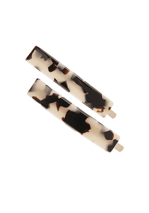 France Luxe Mod Bobby Pin Pair in Neutral.