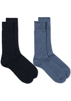 Anonymous Ism Thermal Crew Sock - 2 Pack Assorted