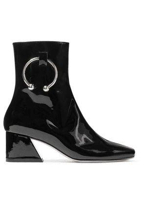 DORATEYMUR - Nizip Embellished Patent-leather Ankle Boots - Black